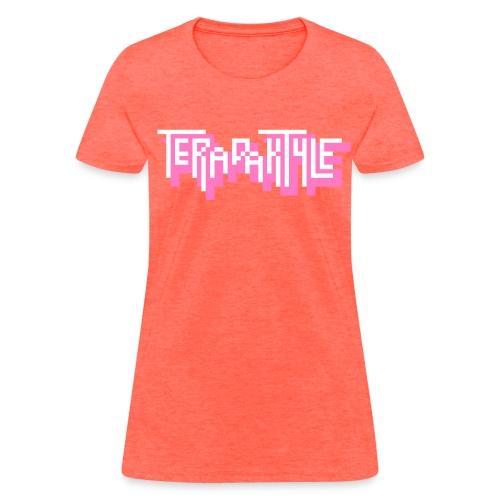 Women's heather logo - Women's T-Shirt