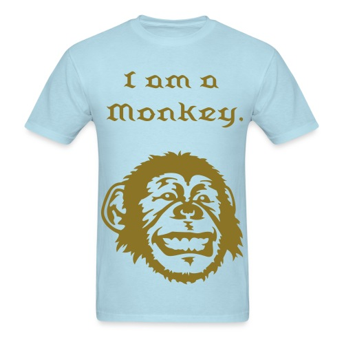 I am a monkey - Men's T-Shirt