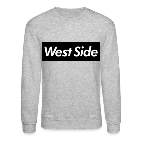 WEST SIDE BLACK - Crewneck Sweatshirt