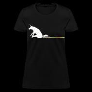 Women's T-Shirts ~ Women's T-Shirt ~ Unicorn poo women