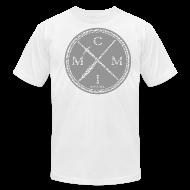 T-Shirts ~ Men's T-Shirt by American Apparel ~ PEN X SWORD ELEPHANT PRINT 004