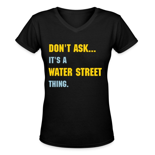 Water Street, Eau Claire - Women's V-Neck T-Shirt