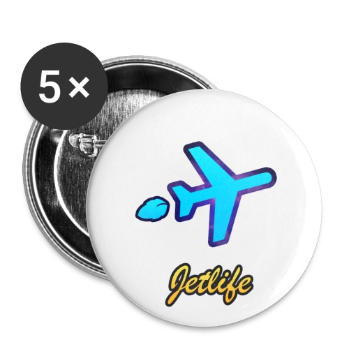 jet life pin - Small Buttons