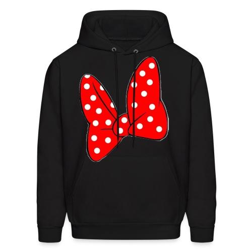 Minnie Mouse Bow Hoodie - Men's Hoodie