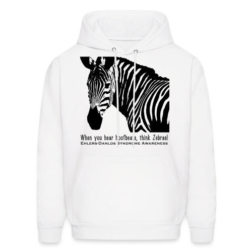 Think Zebras - Ehlers Danlos Awareness - Women's H - Men's Hoodie