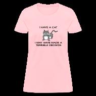 Women's T-Shirts ~ Women's T-Shirt ~ Terrible Decision (Women's)