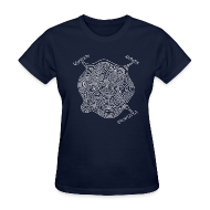 Women's T-Shirts ~ Women's T-Shirt ~ Knowledge Maze (Women's)