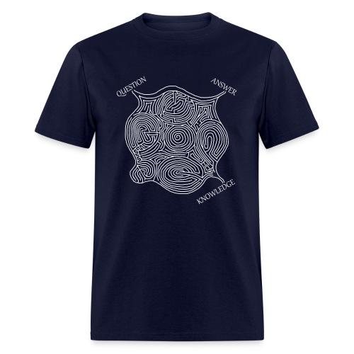 Knowledge Maze (Men's) - Men's T-Shirt