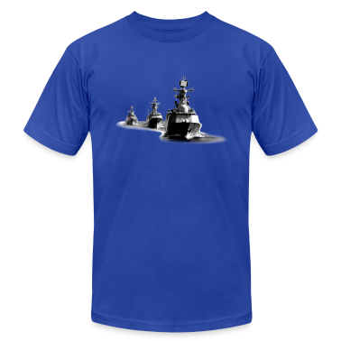 Navy Destroyer Ship Group T-Shirts