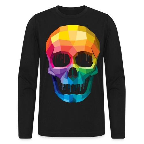 ColurSKULL - Men's Long Sleeve T-Shirt by Next Level