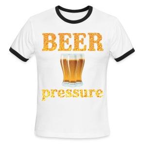 Beer Pressure T-Shirt - Men's Ringer T-Shirt
