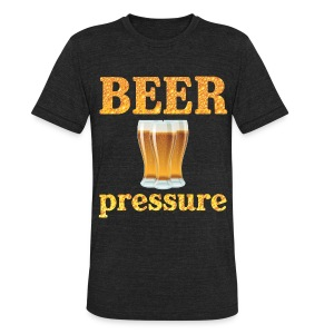 Beer Pressure T-Shirt - Unisex Tri-Blend T-Shirt by American Apparel
