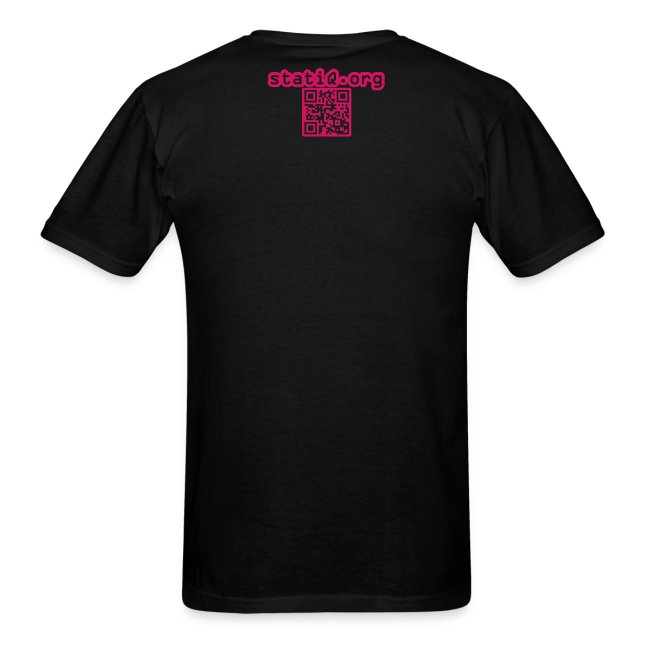 statiQ neon TV t-shirt