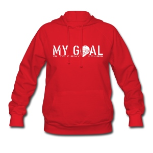 My Goal Is To Deny Yours (Lax) Woman's Hoodie - Women's Hoodie