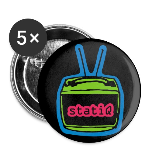 statiQ neon buttons - Large Buttons