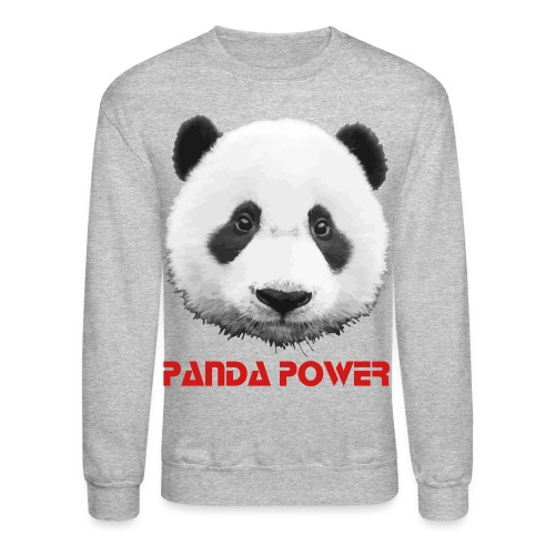 panda power - Crewneck Sweatshirt