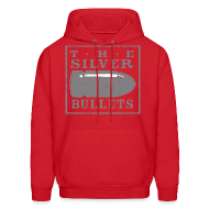 Hoodies ~ Men's Hoodie ~ OLD SCHOOL SILVER BULLETS