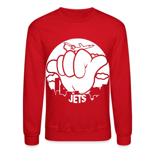 hang  loose jets - Crewneck Sweatshirt