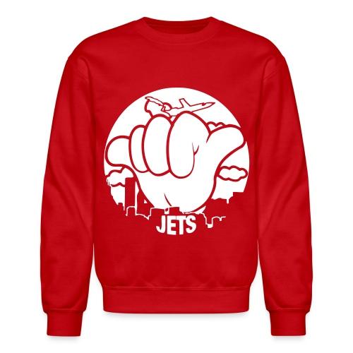 hang  loose jets - Crewneck Sweatshirt