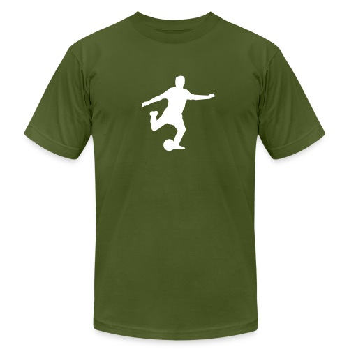 The love of soccer - Men's Fine Jersey T-Shirt