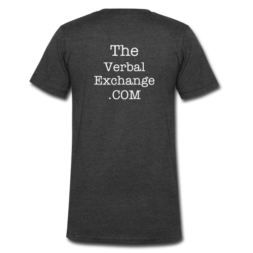 The Verbal Exchange Tee's - Men's V-Neck T-Shirt by Canvas
