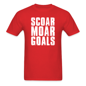 Scoar Moar Goals Men's T-Shirt ~ 351