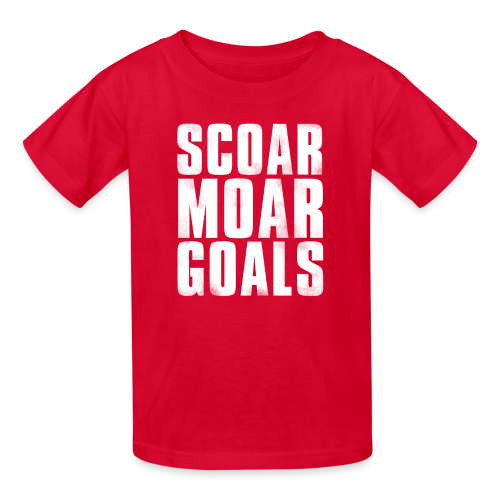 Scoar Moar Goals Kid's T-Shirt - Kids' T-Shirt
