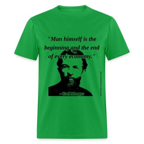 Carl Menger - The Economy - Men's T-Shirt
