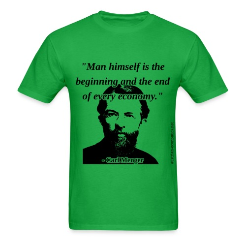 Carl Menger - The Economy - Men's T-Shirt