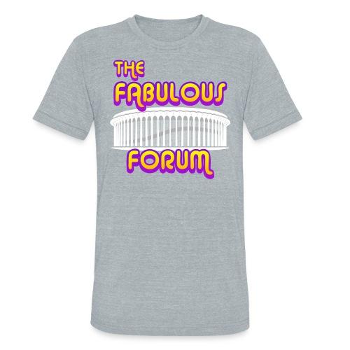 THE FABULOUS FORUM - Unisex Tri-Blend T-Shirt