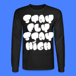 Stay Fly Stay High Long Sleeve Shirts - stayflyclothing.com - Men's Long Sleeve T-Shirt