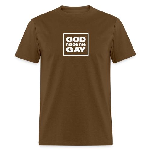 God made me gay - T-shirt - Men's T-Shirt
