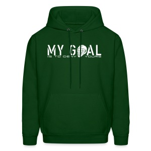 My Goal Is To Deny Yours (Lax) Men's Hoodie - Men's Hoodie