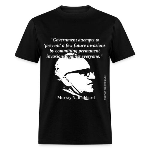 Murray N. Rothbard - Government - Men's T-Shirt