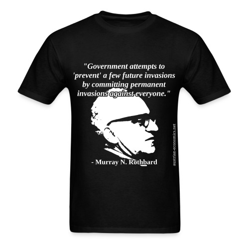 Murray N. Rothbard - Government - Men's T-Shirt