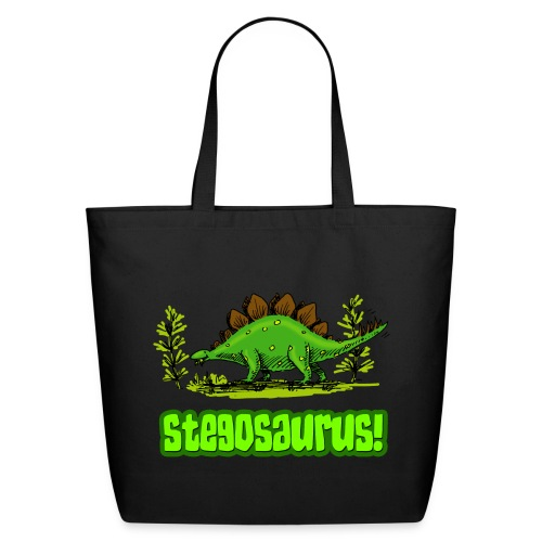 Stegosaurus! - Eco-Friendly Cotton Tote