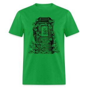 Kudzu Porter Tank T (front) - Men's T-Shirt