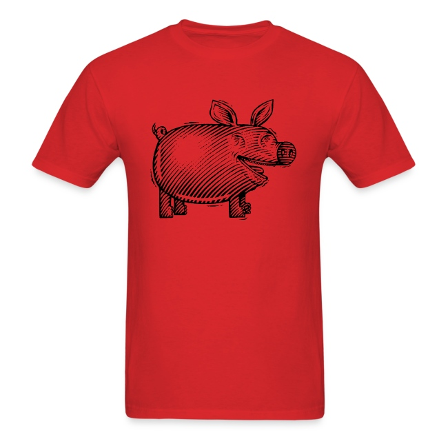 Naked Pig T (front)