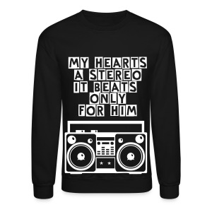 My Heart Beats for Him - Crewneck Sweatshirt