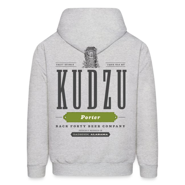 BFBC Logo (front) Kudzu Porter Logo (back) Hoodie