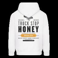 Hoodies ~ Men's Hoodie ~ BFBC Logo (front) Truck Stop Honey Logo (back) Hoodie