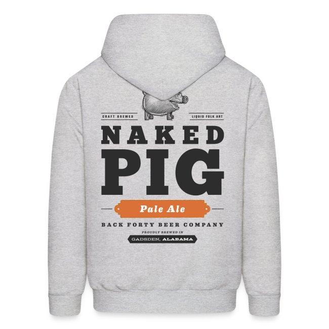BFBC Logo (front) Naked Pig Logo (back) Hoodie