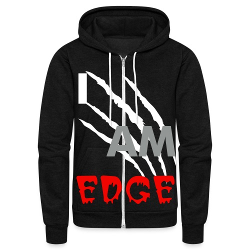 I AM EDGE - Unisex Fleece Zip Hoodie