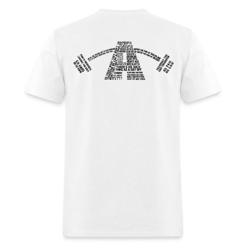 Men's Alpha Quotes Logo (Black) - Men's T-Shirt