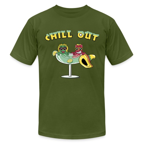 Chill Out! - Men's  Jersey T-Shirt