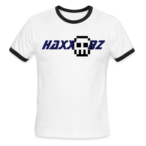 Haxx'd blue shirt - Men's Ringer T-Shirt