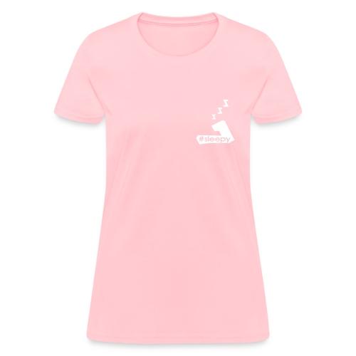 #Sleepy #Team7 tee. WHITE ink - WOMENS - Women's T-Shirt