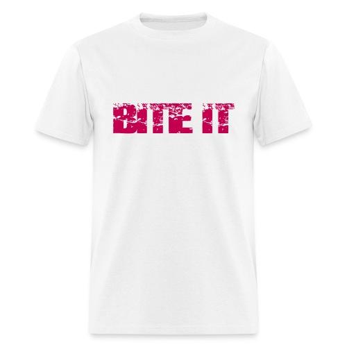 Men's BITE IT Lips T-Shirt - Men's T-Shirt