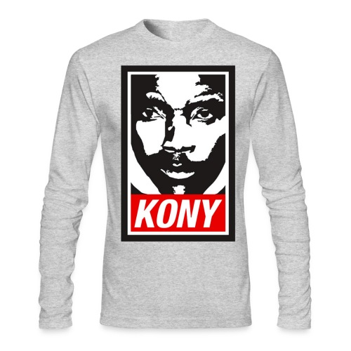 Kony - Men's Long Sleeve T-Shirt by Next Level