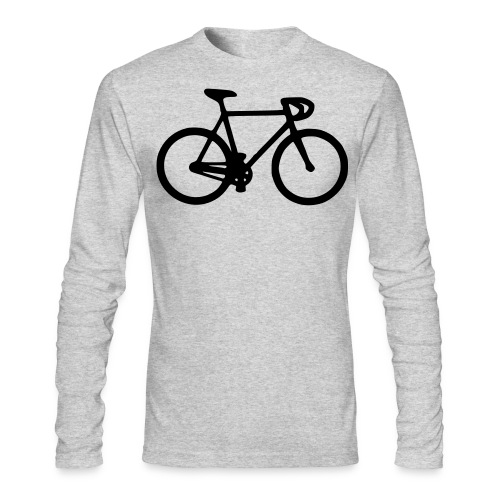 Ride Fixed - Men's Long Sleeve T-Shirt by Next Level